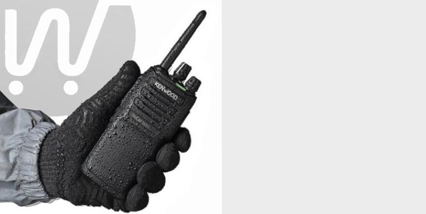 Kenwood TK-3701D walkie talkies