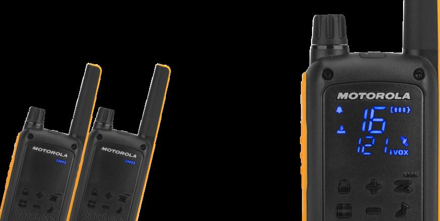 Robuuste walkie talkies