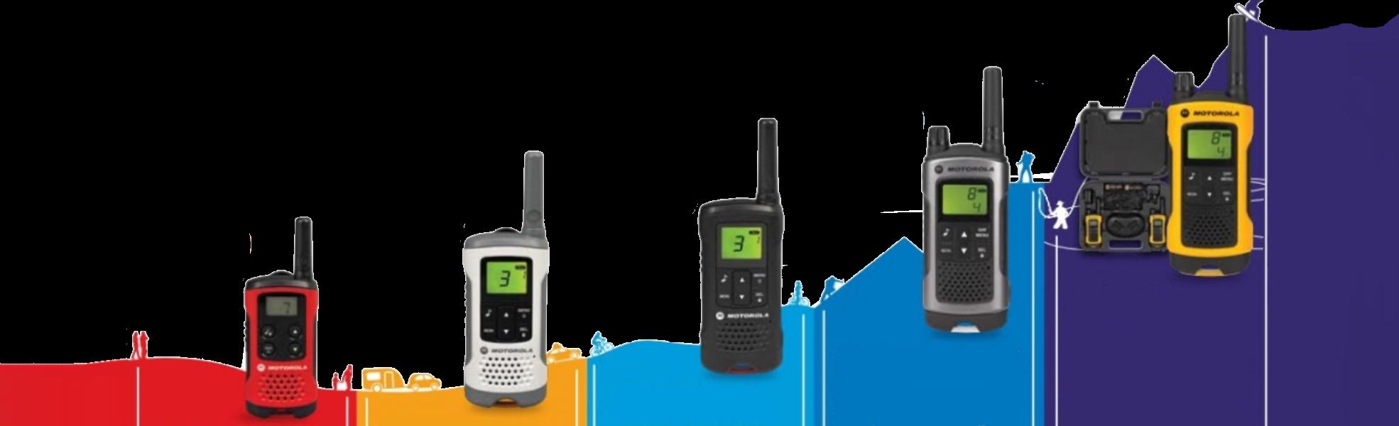 Kies de juiste walkietalkie