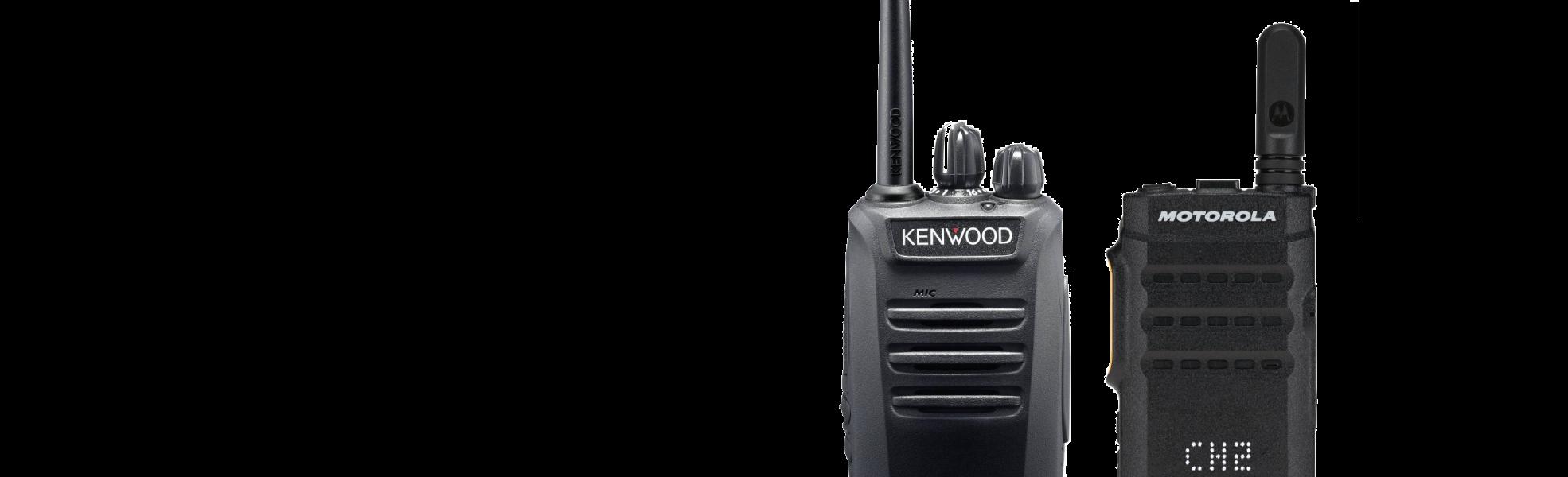 Verschil tussen portofoons en walkie talkies