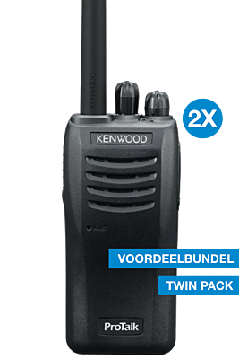 Kenwood TK-3501 twin pack
