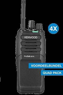 Kenwood TK-3701D Quad pack