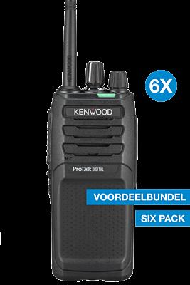 Kenwood TK-3701D Six pack